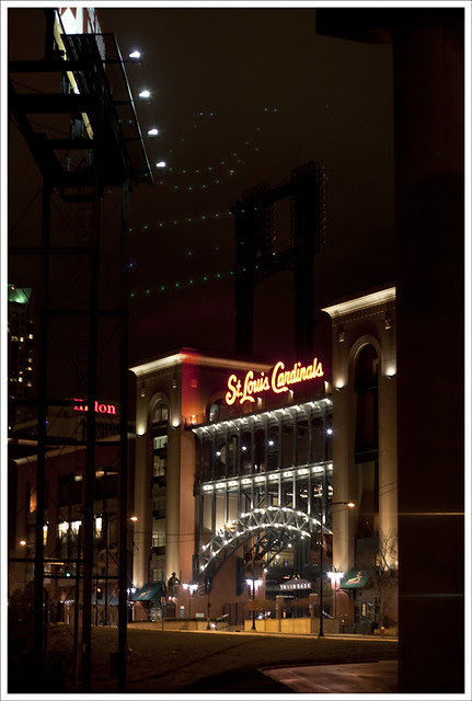 Busch Stadium At Night 2