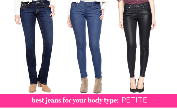 La Petite Fashionista: The Perfect Jeans for Your Body Type