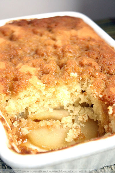 Caramel Apple Pudding