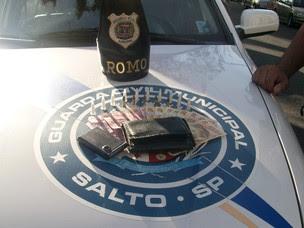 Material foi apreendido no Jardim Marília (Foto: Divulgação/Guarda Civil Municipal)