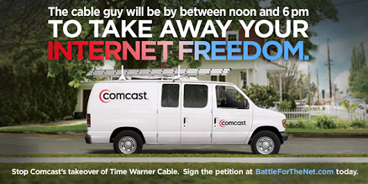 Comcast is about to control most of the Internet