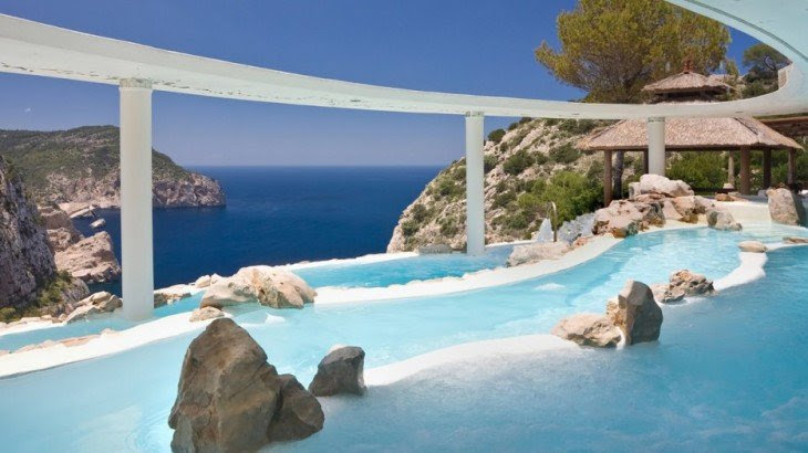 piscina del Hotel Hacienda Na Xamena, España