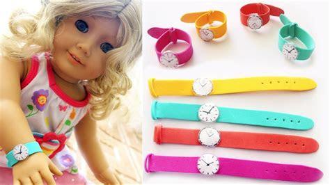 diy miniature doll wrist  american girl doll diy