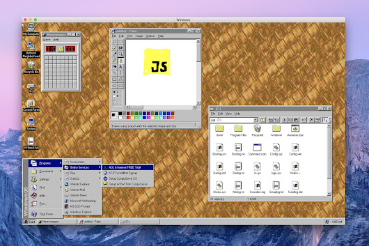 Windows 95 is now an app you can download and install on macOS, Windows, and Linux - The Verge