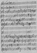 Manuscrito se Jan Dismas Zelenka