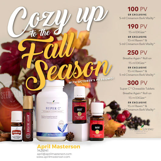 Young Living October 2017 Promotion!