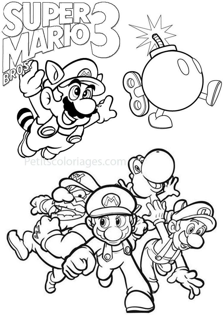 Coloriage Gratuit A Imprimer Mario Yoshi.Coloriage Yoshi Et Mario Des Milliers De Coloriage