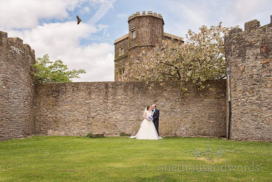 Walton Castle Wedding Photographs with Louise and Dan -