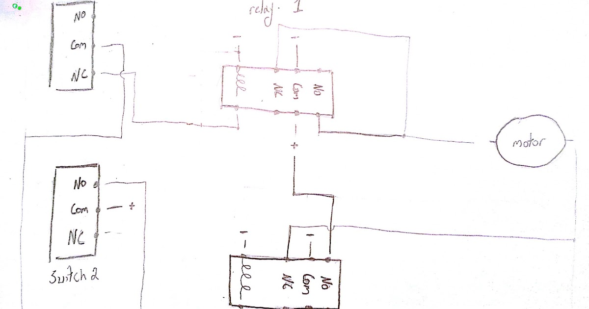 12 Volt Reverse Polarity Toggle Switch Wiring Diagram