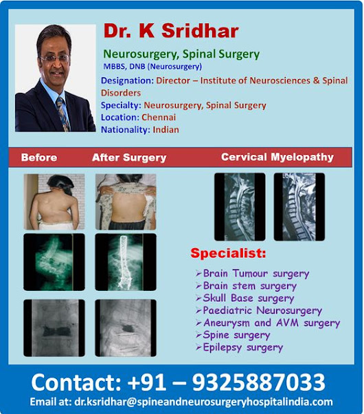 A Unique Approach of Dr. K. Sridhar Treating Spine And Neuro Conditions in India by Richelle Mandy