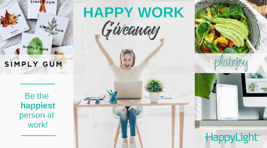Win $350 in Prizes from Verilux, Platejoy & Simply Gum!