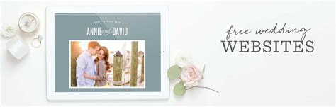 100% Free Wedding Websites   Match Your Colors & Style