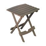 Adams 8500-96-3735 Quik-fold Side Table, Portobello