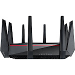 ASUS RT-AC5300 Wireless Router - 5334 Mbps - 2.4 GHz / 5 GHz - Gigabit Ethernet - 802.11b/a/g/n/ac