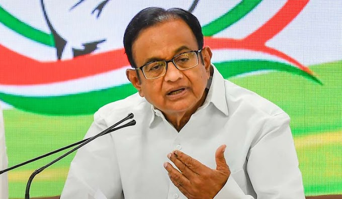 ED's interrogation of P. Chidambaram for six hours in 70 thousand crore aircraft deal.