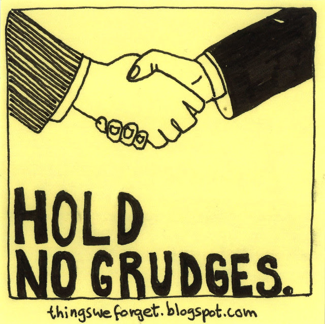 Chandlers Blog Life Is Too Short To Hold Grudges