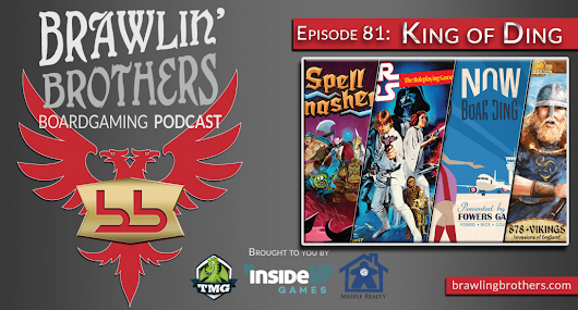 Episode 81: Star Wars RPG 30th Anniversary Edition + Kickstarter Boardgames ⋆ Brawling Brothers Boardgaming Podcast
