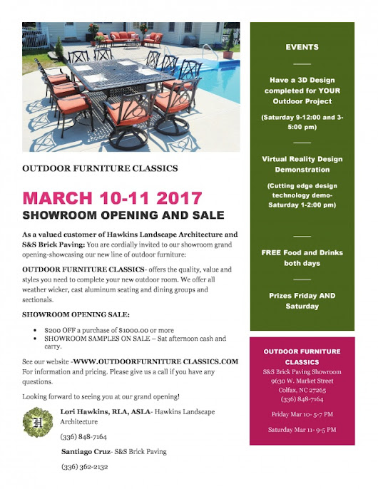 Hawkins LA- FEB 2017 Get Ready for Spring with Free Landscape Design!