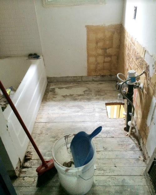 Upstairs Bathroom Renovation: Part 2 | Stacy Risenmay
