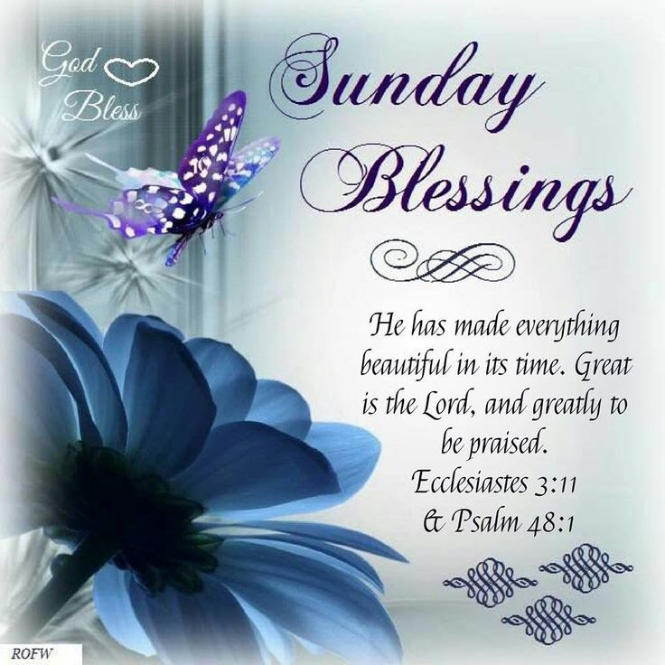 Sunday Blessings Quotes Best Inspiration Ideas