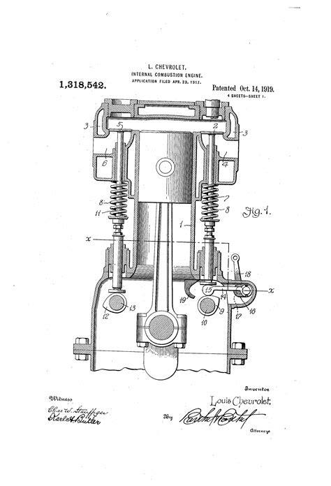Patent US1318542 - Internal-combustion engine - Google Patents