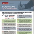 Top 10 Grammar Rules You're Probably Breaking | Right Source Marketing