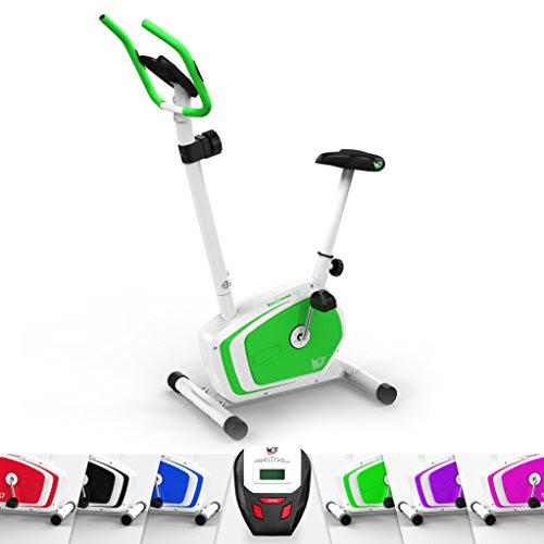 We R Sports Magnetic Indoor Exercise Bike Home Fitness Cardio Workout Machine (Green)