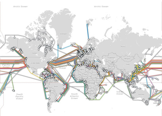 "World Economic Forum on Twitter: ""How can we protect the #internet's undersea cables?  #tech """