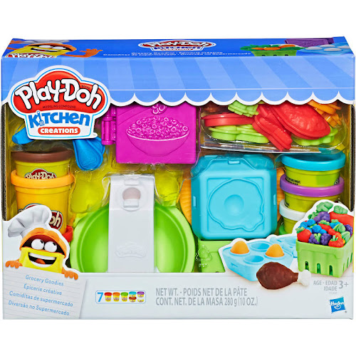 Play Doh Kitchen Creations Playset, Modeling Compound, Grocery Goodies - 1 playset, 280 g