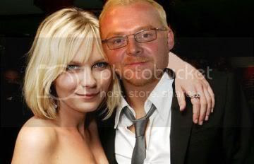 Kirsten Dunst and Simon Pegg