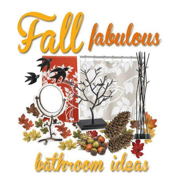 Pinterest Fall Bathroom Decorating Ideas