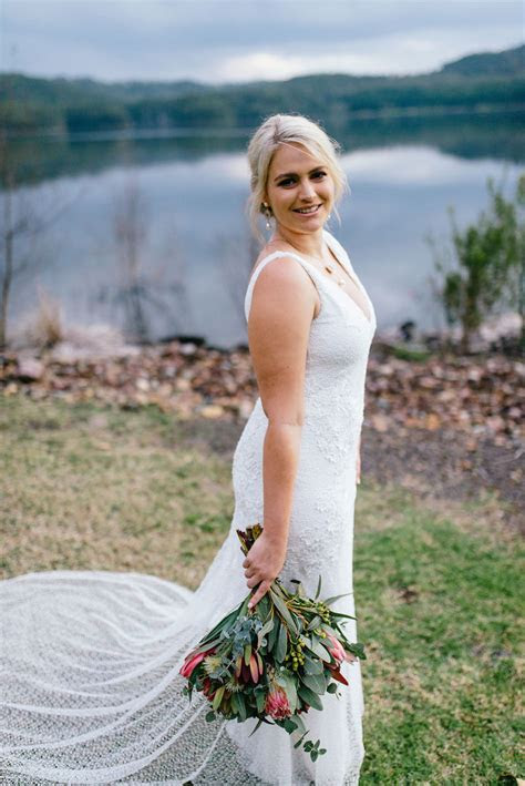 Jess loves Scott   Lake Wedding on the Sunshine Coast
