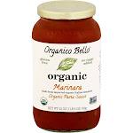 Organico Bello Pasta Sauce, Marinara - 25 oz jar