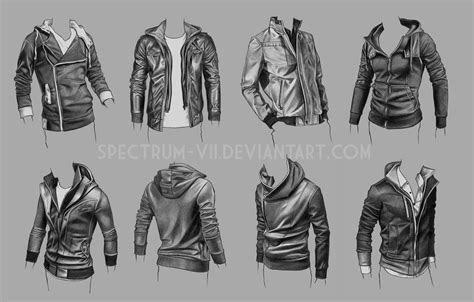 clothing study jackets   spectrum viideviantartcom