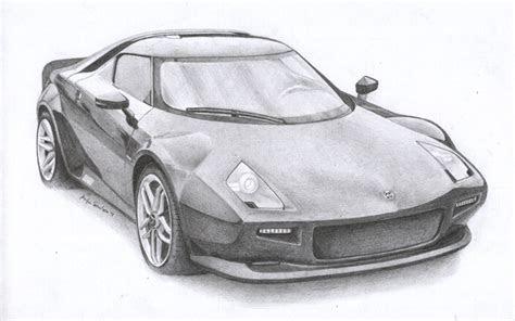 car pencil art drawings supercar drawing  gallery