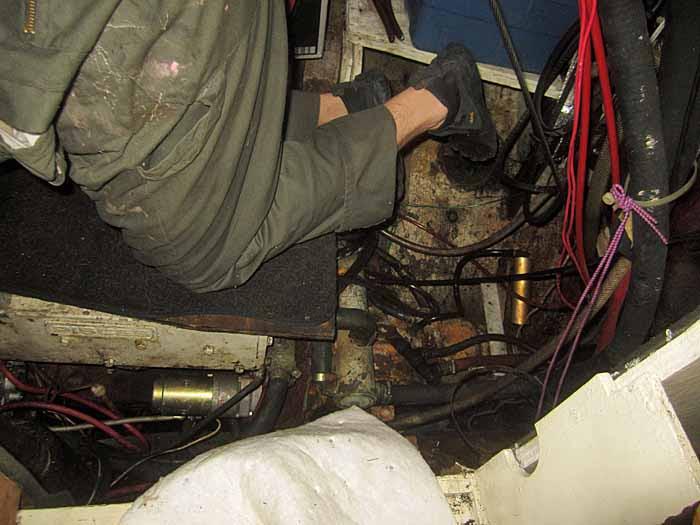 HofG Engine Room Working