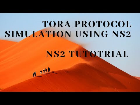 TORA Protocol in NS-2.35 (NS2)