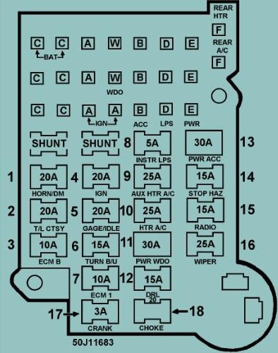 1988 S10 Wiring Diagram - Wiring Diagram Schema