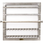 Hives & Honey Karli Jewelry Frame - Silver