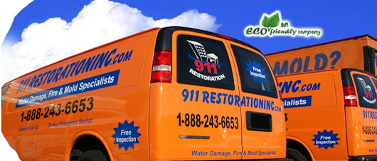 Serving all Washington DC areas, 24/7 water damage restoration service