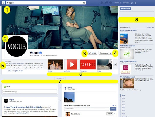 Understanding the Layout of Facebook Business Pages - Noelle Marketing Consulting