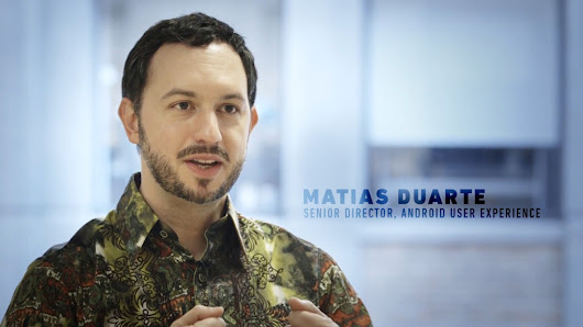 Watch this: Android design head Matias Duarte explains why mobile is dead