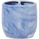 Saturday Knight Tuscan Toothbrush Holder Blue