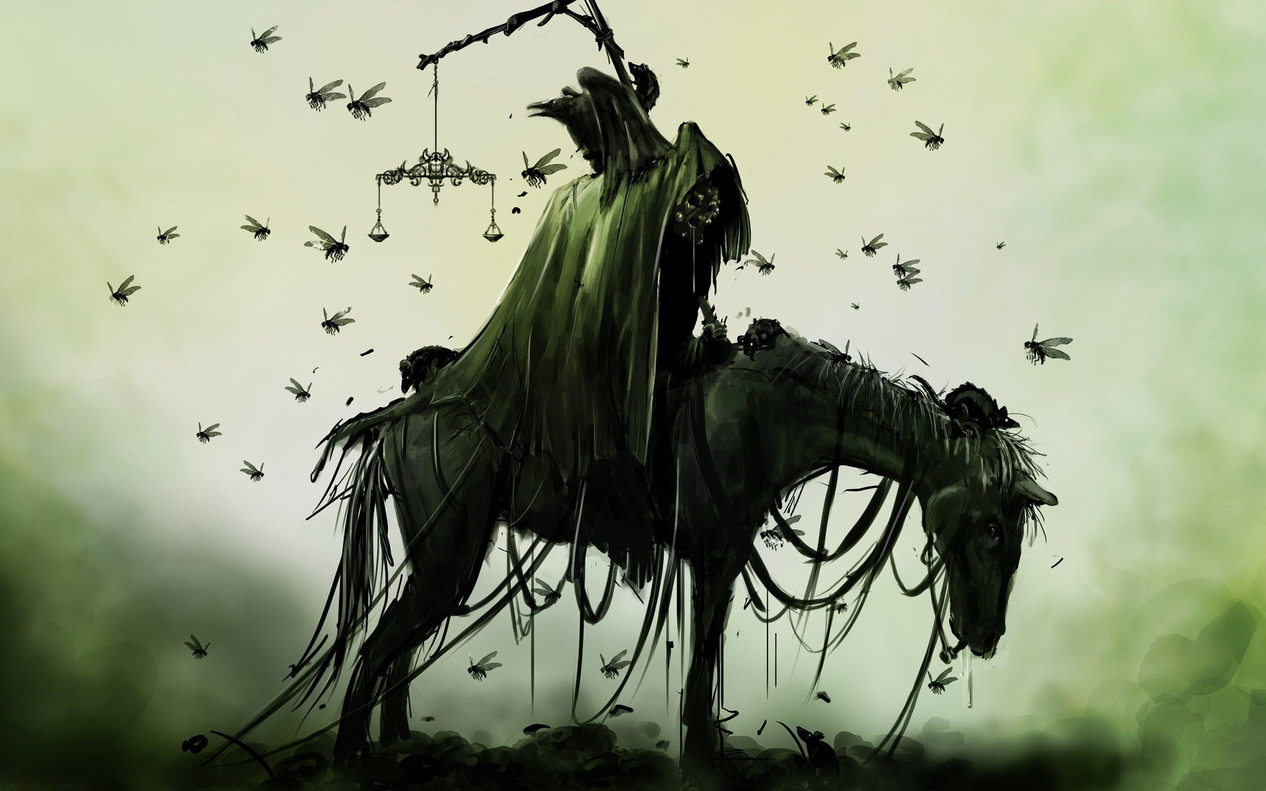 Hd Creepy Knight On The Horse Wallpaper Download Free 149973
