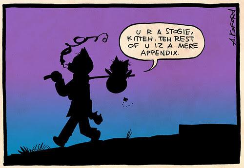 Laugh-Out-Loud Cats #2427 by Ape Lad