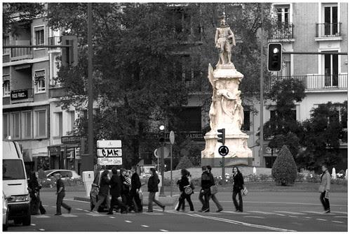 calles de Madrid: glorieta de Quevedo