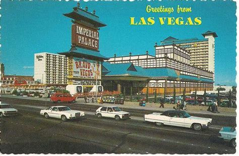 Vintage Imperial Palace Hotel and Casino Las Vegas by