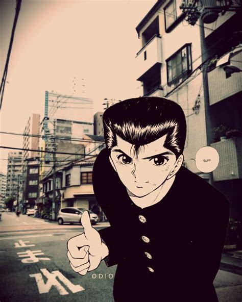 yu yu hakusho anime manga japanese aesthetic design