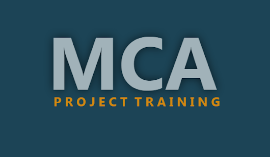 TCCI – Ahmedabad- MCA Project Training