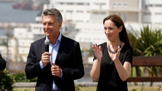 Mauricio Macri se mostró con María Eugenia Vidal en Mar del Plata
